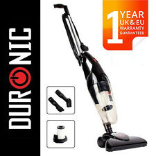 Duronic VC7/BK Bagless Upright Stick Vacuum Cleaner With Hepa UK Energy Class B