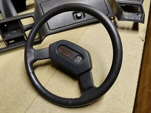 peugeot 205 phase 1 steering  wheel with gti centre badge (2)