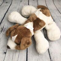 "2001 COMMONWEALTH 20"" Saint Bernard Plush Puppy Dog Brown Tan White Spots"