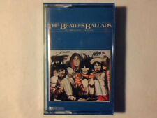 BEATLES The ballads mc cassette k7 ITALY COME NUOVA LIKE NEW!!!