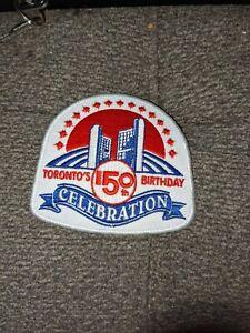 City of Toronto's 150 Birthday Patch (Toronto Maple Leafs Patch)