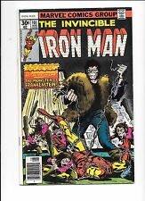 Iron Man #101 August 1977 introduction of The Dreadknight, Frankenstein Monster