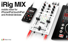 The Irig Mix , The Ultra Compact DJ mixer  for iPhone, iPod touch, iPad