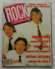 ROCK & FOLK No.254(Juil 1988) PINK FLOYD+Poster- M.JACKSON-F.HARDY-ATLANTIC CITY