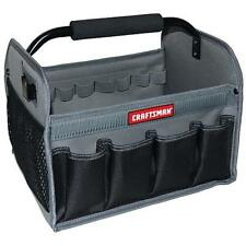 Craftsman BLACK 12In. Tool Set Tote Bag Gardening Organizer Work Bag Brand New!