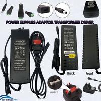 Plug AC100-240V DC 12V 1-10A Power Supply Transformer Adapter For LED Strip CCTV