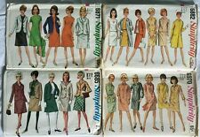 Women's Vintage 1960S Sewing Patterns 4 Simplicity size 10