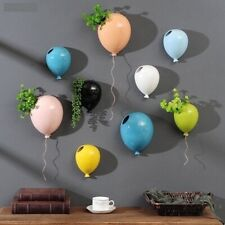 Wall Hanging Flower Pot Ceramic Balloon Flower Vase Home Wall Creative Decoratio