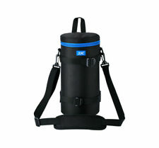 JJC Dlp-7 130 X 310 Mm Water Resistant Deluxe Lens Pouch With Strap -