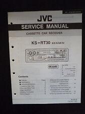 Original Service Manual  JVC KS-RT30