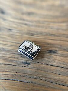 Nomination Silver Tower of Pisa Charm