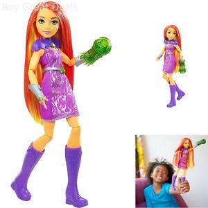 Super Hero Girls Starfire Action Doll 12 Inch Girls Toys Comic Book Heroes