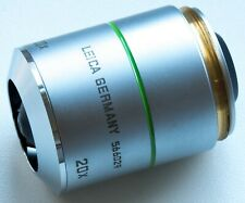 TIDY LIGHTLY USED LEICA N PLAN 20x / 0.40 BD MICROSCOPE OBJECTIVE LENS OPTIC