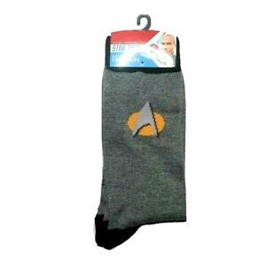Men's Star Trek Crew Socks  Sizes 10 - 13