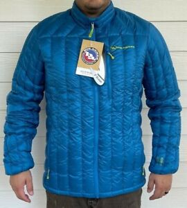 2021 NWT MENS BIG AGNES HOLE IN THE WALL Down insulator JACKET Blue XL $200 blue