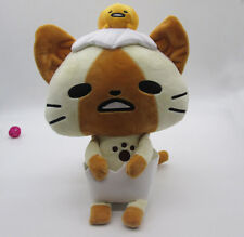 NEW Monster Hunter BIG 15.5inch Airou collaborate with Gudetama Plush Toy Prize
