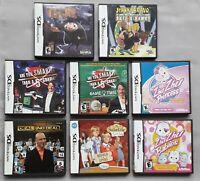 Nintendo DS - Lot of 8 Games - Igor, 5th Grader, Zhu Zhu, Johnny Bravo, No Deal