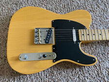 Fender MIM FSR Telecaster butterscotch blonde with gig bag