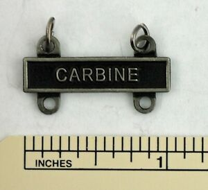 CARBINE MARKSMANSHIP BADGE TAB / BAR - ARMY QUALIFICATION ATTACHMENT