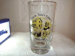 Glass. Collectible, blown. Uncle Tom's cabin