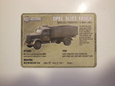 Warlord Games Bolt Action Vehicle Cards - Opel Blitz Truck