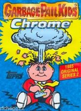 NEW 2014 GARBAGE PAIL KIDS SERIES 2 COMPLETE CHROME 110 CARD BASIC AND LOST SET