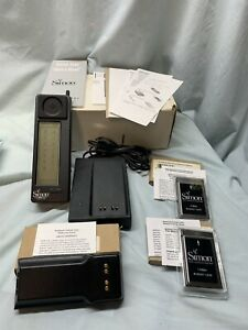 IBM Simon World's First Smartphone Cell Phone RARE Vintage Collectible W/ Extras