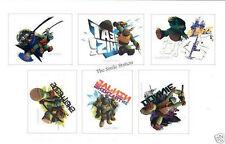 12 Teenage Mutant Ninja Turtle TMNT Temporary Tattoo Kid Party Bag Favor Supply