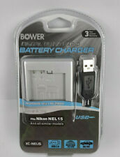 Bower Digital Ultra Rapid Battery Charger for Nikon NEL15
