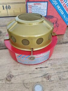 Vintage Desmo Paraffin anti frost heater Red ☆ Free uk Mainland postage