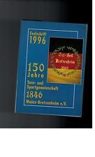 Festschrift  - 150 Jahre Turn- und Sportgemeinschaft  Mainz-Bretzenheim - 1996