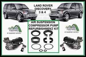 Land Rover Discovery MK 4 IV air suspension Hitachi compressor pump refurb kit