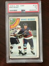1978 O-PEE-CHEE #115 Mike Bossy Rookie PSA 5 EX