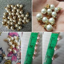 Ivory Pearl Buttons for Asian Outfits and Dresses