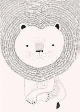 Rasch Tapete 842272 Bambino XVIII Wandbild Löwe Digitaldruck Vlies Kinderzimmer