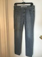 BULLHEAD HERMOSA SUPER SKINNY JEANS SIZE 7 Long/ Med Wash / Distressed Stretch