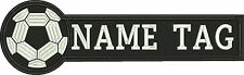 SOCCER COACH Custom Name Tag Embroidered Patch