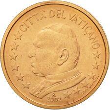 [#581398] Cité du Vatican, 2 Euro Cent, 2002, SPL, Copper Plated Steel, KM:342