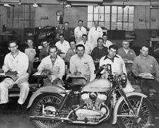 Harley Davidson Model K 45ci / 750cc 1952 Service School group factory photo