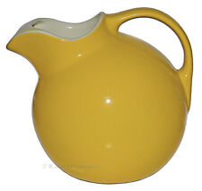 Hall China Screaming Yellow #3 Ball Jug / Pitcher / Ivory Interior and Ice Lip