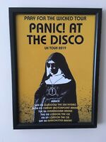 Panic At The Disco A4 260gsm Framed Poster Print
