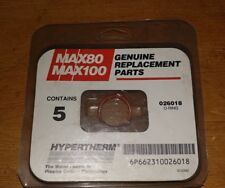 HYPERTHERM O-RINGS 026018 - NEW package of 5 MAX100 - MAX80