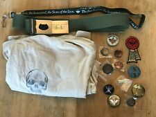 Games Workshop - Merchandise clear out set (Imperium belt, t-shirt, badges)