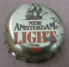 NEW AMSTERDAM LIGHT NEW AMSTERDAM BREWING NEW YORK MICRO CRAFT BEER BOTTLE CAP