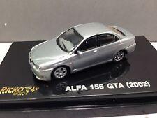 HO 1/87 Ricko # 38839 ALFA 156 GTA (2002) - Silver