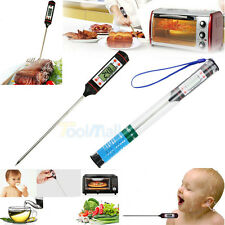 New Kitchen BBQ Digital Cooking Food Meat Probe Electronic Thermometer XmasParty