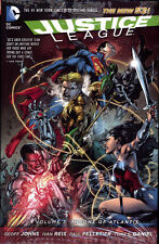 JUSTICE LEAGUE VOL #3 THRONE OF ATLANTIS HARDCOVER Johns DC Comics #13-17 HC