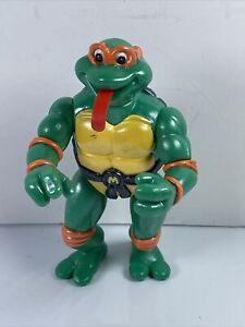 """Vtg Playmates Teenage Mutant Ninja Turtles TOON MIKE 5"""" Figure 1992"""