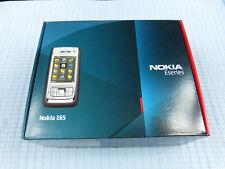 Original Nokia E65 Braun/Silber! Gebraucht! Ohne Simlock! OVP!
