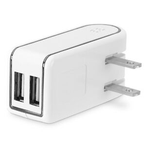 PureGear 12W 3.4A Dual USB Wall Charger Adapter, 60515PG